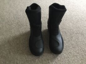 Tcx motorbike black boots only worn twice
