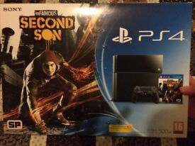 Playstation 4 Infamous: Second Son bundle - Excellent Condition