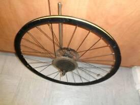 700c hybrid bike REAR disc wheel