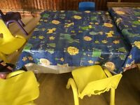 Kids tables from playgroup free collection only