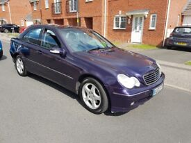 2002 MERCEDES BENZ C220 DIESEL AUTOMATIC £748 NO OFFERS OR SWAP NO PENNLESS MASSGES CALL 02475119417
