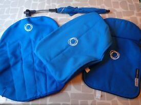 Bugaboo Cameleon Blue Tailored Fabric & Parasol