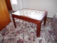 Retro 1970's G PLAN tiled Coffee table