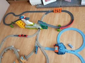 Thomas trackmaster. Different sets mixed together including few trains