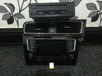 VW GOLF R HEAD UNIT AND MIB UNIT