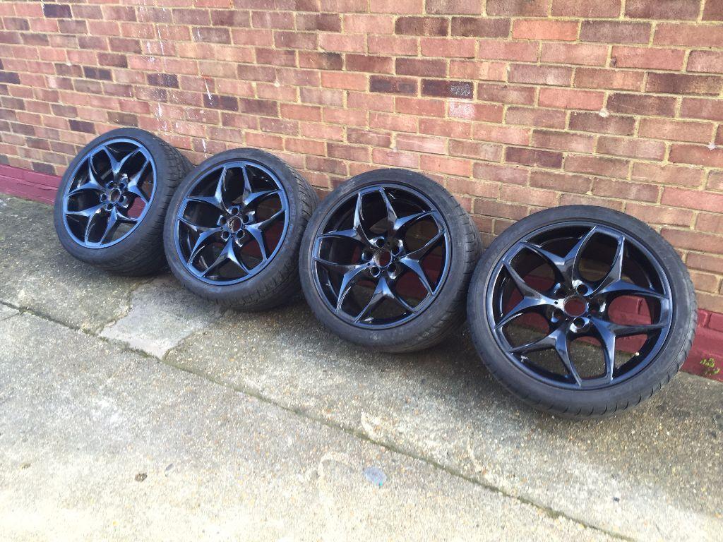 Genuine Bmw 215 X5 M Sport 21 Inch Wheels Alloys X6 E71