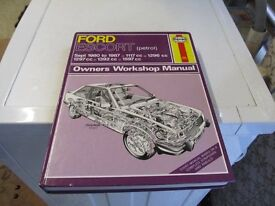 FORD ESCORT (PETROL) HAYNES MANUAL