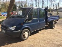 2004 Ford Transit 3 way tipper 2.4 125bhp