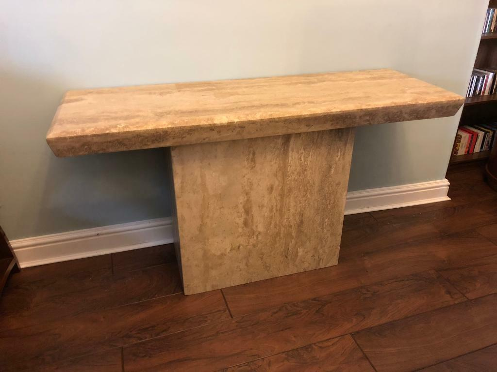 sports shoes 95b44 cf66f SOLD PENDING COLLECT - Barker & Stonehouse Travertine Marble Console Table  | in Bishop Auckland, County Durham | Gumtree