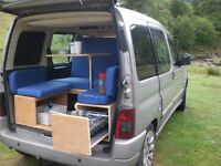 CITREON BERLINGO CAMPING van kit converter complete unit