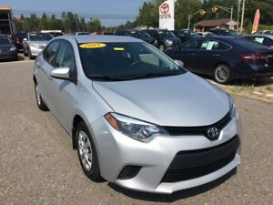 2015 Toyota Corolla CE ONLY $115 BIWEEKLY WITH 0 DOWN!
