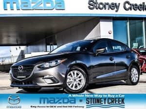 2015 Mazda MAZDA3 GS Auto NEW RR/Brakes Heated B/UP CAM LOW KM!