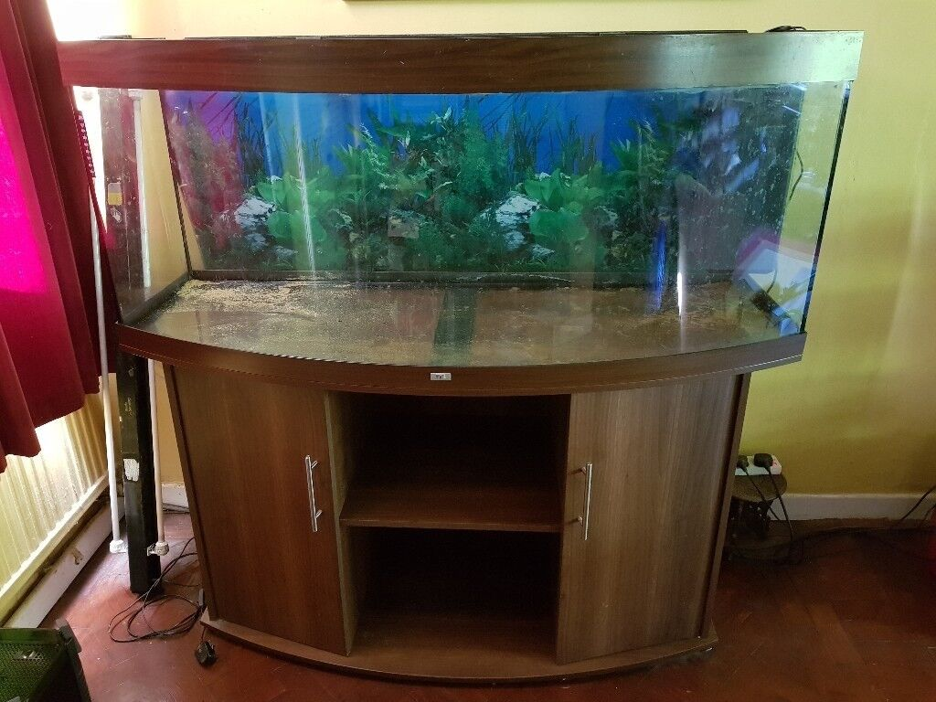 juwel vision 450 in beech used aquarium with external filter and heater in good condition in. Black Bedroom Furniture Sets. Home Design Ideas