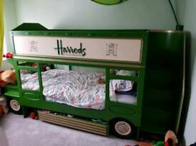 Harrods bus bunk bed