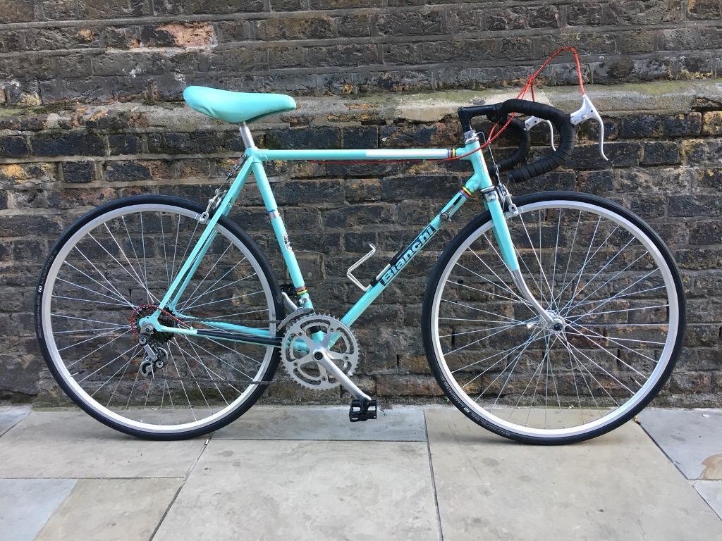 Vintage BIANCHI REKORD Racing Road Bike - Restored