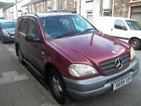 rare 6 speed manual Mercedes 270 cdi ml 4x4