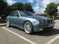 """1995 BMW E36 328i Coupe Leather 18"""" Style 32's 5 Speed Manual Gearbox Might Swap P/X"""