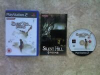 SILENT HILL ORIGINS + RARE STRATEGY GUIDE PS2