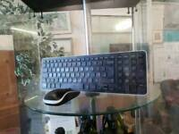 Keyboard and mouse available now