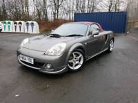 Toyota MR2, Roadster, 54Plate, January 2019 MOT, Full Red Leather, Very Good Condition,