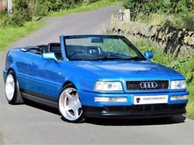 RARE EXAMPLE - AUDI 80 CABRIOLET V6 2.8 AUTO -CONVERTIBLE -FULL DETAILED SERVICE HISTORY -IMMACULATE