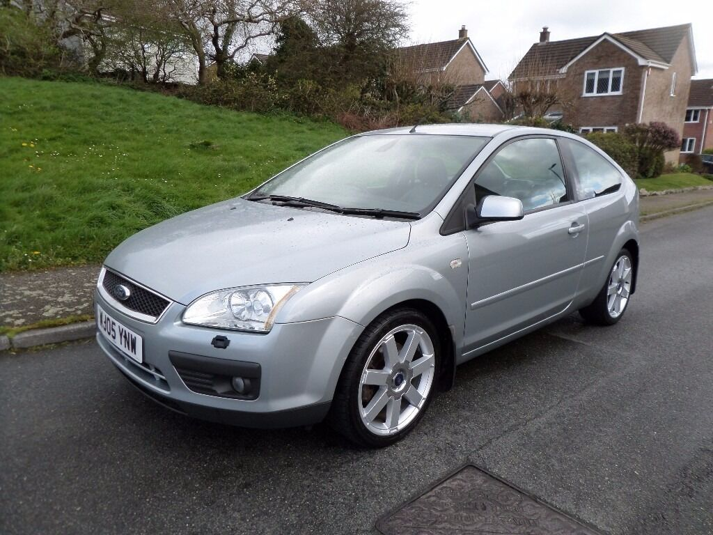 ford focus titanium ltrmachine silverblue leather