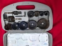 Draper expert hole saw drill set- 12 pieces