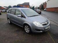 2009 (59 reg), Vauxhall Zafira 1.6 i 16v Design 5dr MPV, £2,195 p/x welcome