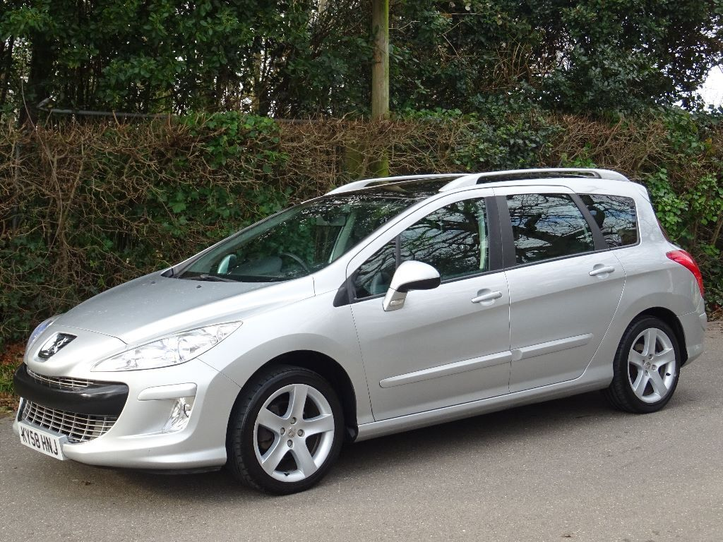2008 58 peugeot 308 sw 1 6 hdi fap sport 5dr 7 seater in poole dorset gumtree. Black Bedroom Furniture Sets. Home Design Ideas