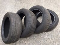 **NEXEN TYRES 215/55/17 V RATED X 4 NEW** & USED 205/55/16