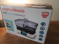 Morphy Richards Intellisteam Compact Food Steamer