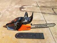 Petrol hitachi chainsaw