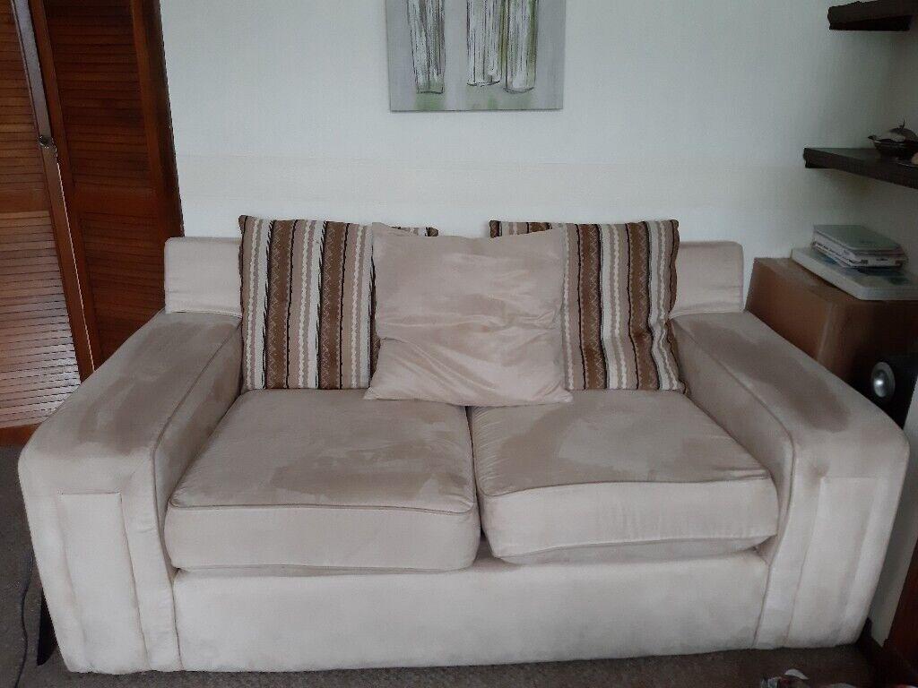 Sensational Three Seater Sofa In Penwortham Lancashire Gumtree Home Remodeling Inspirations Cosmcuboardxyz
