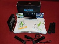 Nintendo Wii Sports Resort Black Edition with Wii Fit