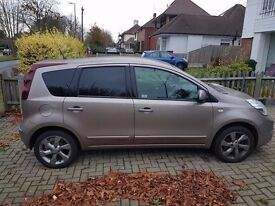 Low milage excellent condition Nissan Note