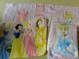 Disney Princess Single Duvet Set x2