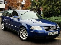 2004 VW PASSAT 1.9 TDI HIGHLINE ESTATE MANUAL FULL BLACK LEATHER FACE LIFT MODEL