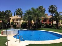 Puerto Banus: Stunning 3 bed villa with own pool walkable distance to centre of town