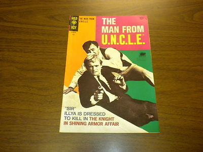 The Man From Uncle  19 Gold Key Tv 1968 U N C L E