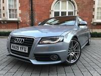 2009 Audi A4 3.0 TDI S Line Quattro ***1 PRV OWNER**FULL AUDI SH**PX WELCOME