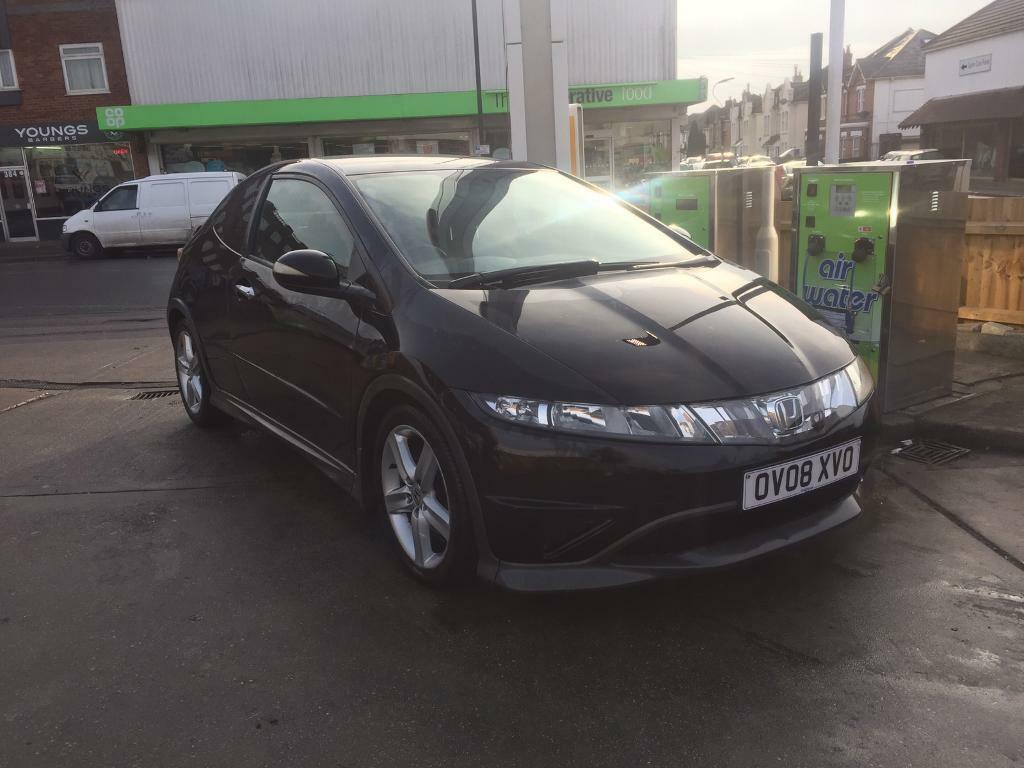 honda civic 2008 1 8 type s 140ps 87k cheap on insurance or swap for bike in bournemouth. Black Bedroom Furniture Sets. Home Design Ideas