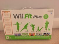 New boxed Wii fit Plus