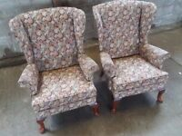 Parker Knoll Armchairs x 2