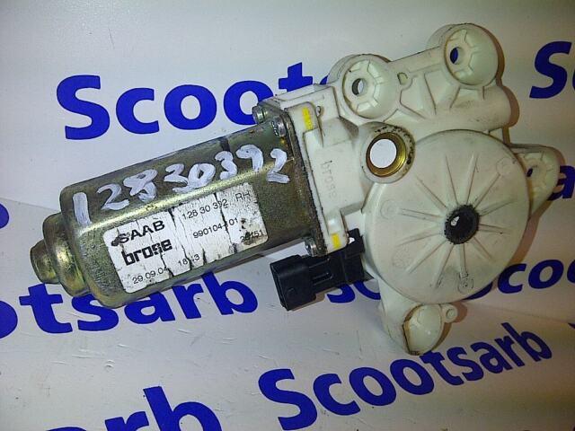 SAAB 9-3 93 Right Hand Window Regulator Motor 2004 - 2010 12830392