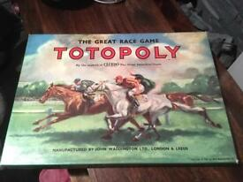 Totopoly board game.