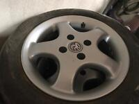 Alloy wheels recently refurbished