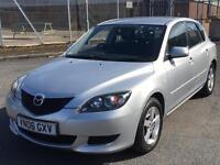Mazda 3 1.6 2006 + FULL SEVICE HISTORY + MOT TILL MARCH 2018 + LOW MILES