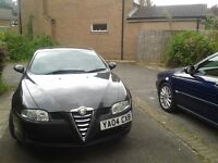 Alfa Romeo GT JTS , Full Service History,Leather, Low Mileage,12 Months MOT.In Leeds