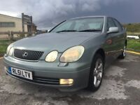 EXCELLENT CONDITIONS LEXUS GS 300 SE AUTOMATIC 4 DOOR, FULL SERVICE HISTORY, LOVELY CAR THROUGHOUT,