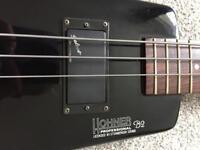 Hohner B2 headless bass 1980s original